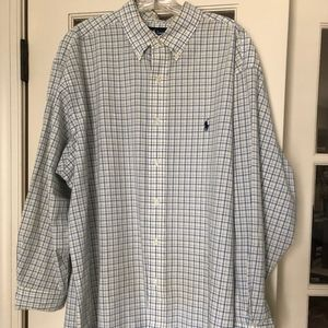 Ralph Lauren Polo Plaid Men's Button Down